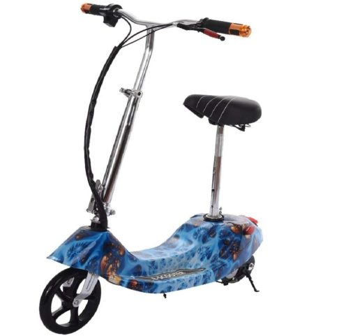DD UpStep Foldable Electric Scooter with Seat Adjustable Height for Kids