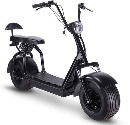 Toxozers LED Electric Scooter with Seat