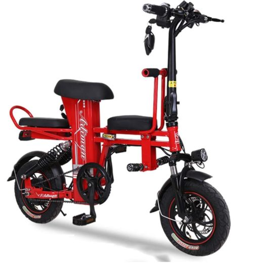 XCWIIE LED Electric Scooter with Seat for Adults