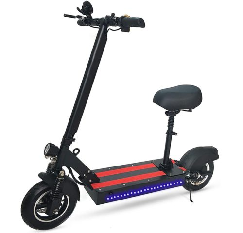 XYZCUP Electric Scooter with Seat for Adults
