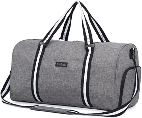 Apollo Gym Bag Waterproof Weekender Sports Bag with Shoe Compartment