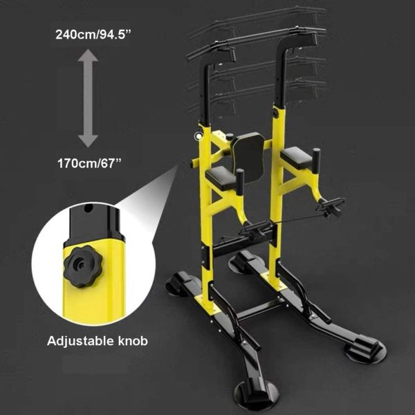 Fitness equipment Pull-up Bars Free Standing Stand Dip Station Power