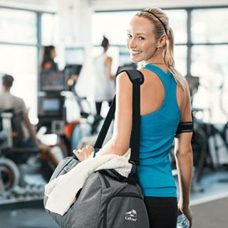 Gym Bags with Shoes Compartment
