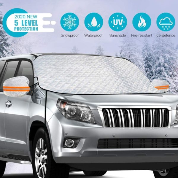IFNY Windshield Snow Cover,Upgrade Version Windshield
