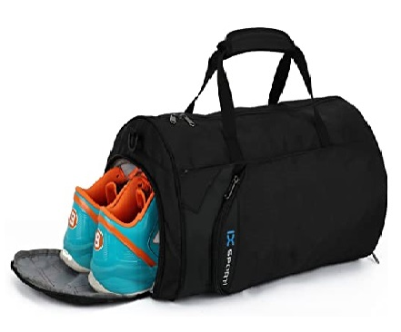 Inoxto Fitness Gym Bag with Shoe Compartment