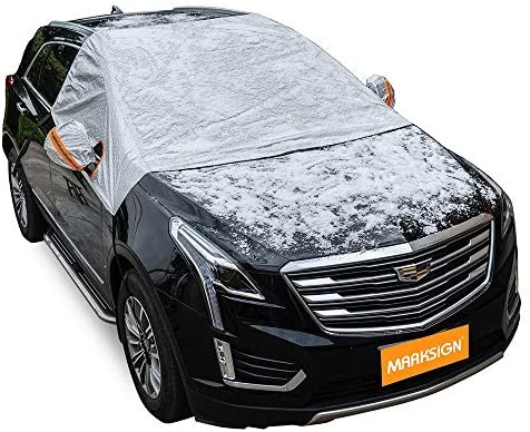 MARKSIGN Universal Fit Windshield Sun Shade for Cars