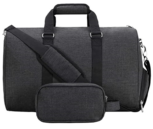 Mier Duffel Gym Bag with Shoe Compartment