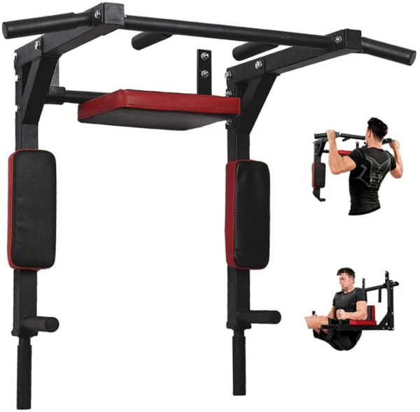 PLKO Wall Mount Pull Up Bar Wall Mounted