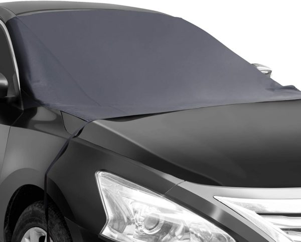 Shynerk Magnetic Edges Car Snow Cover, Frost Car Windshield Snow Cover
