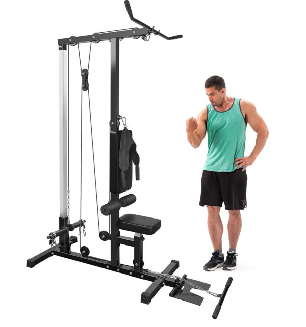 MERAX Standing Pulldown machine for Home and Gym
