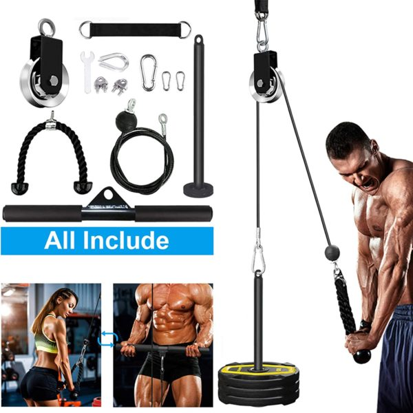 SERTT Standing Pulldown Machine for Triceps, Biceps, Shoulder, Back, and Forearm