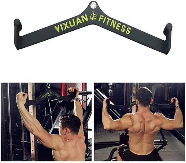 XingLi Tricep Press Down V Bar Attachment Handle for Cable Machines