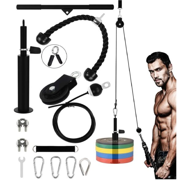 YANOVATE Fitness Home Workout Standing Pulldown Equipment